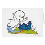Casper Haunted House Greeting Card