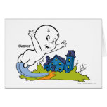 Casper Haunted House Greeting Cards