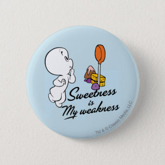 Casper Is My Weakness 2 Inch Round Button