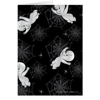 Casper Spider and Webs Pattern Card