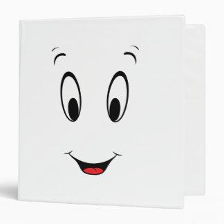 Casper Super Smiley Face 3 Ring Binder