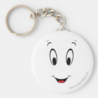 Casper Super Smiley Face Keychain