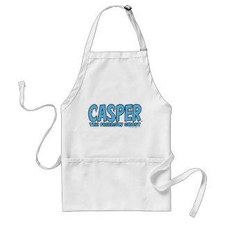 Casper the Friendly Ghost Blue Logo 1 Standard Apron