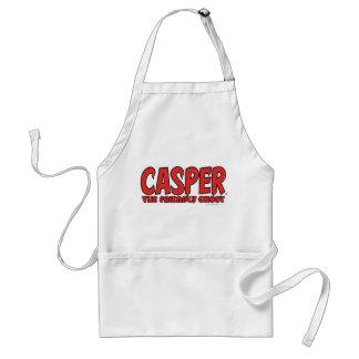 Casper the Friendly Ghost Red Logo 1 Standard Apron