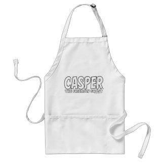 Casper the Friendly Ghost White Logo Standard Apron