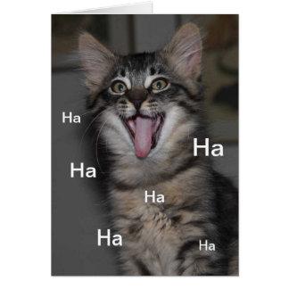 Caspian Kitten Hospital Get Well Soon Card