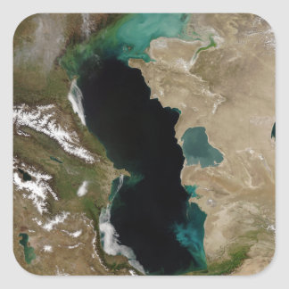 Caspian Sea Square Sticker