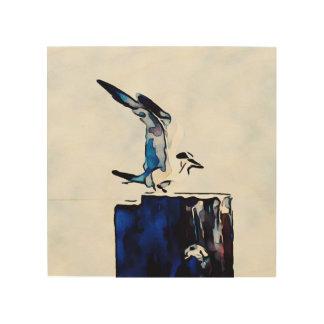 Caspian Turn Sea Bird in Sausalito Wood Print