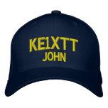 Casquette amateur d'indicatif d'appel de chapeaux brodés