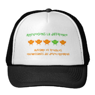 Casquette Apprivoisons la différence Trucker Hat