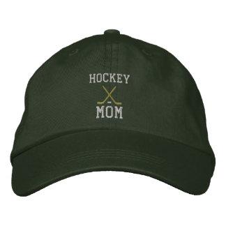 Casquette brodé par maman d'hockey casquettes de baseball brodées