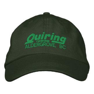 Casquette brodé par vert chapeau brodé
