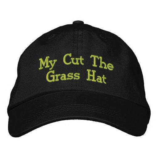 Casquette Brodée Fauchage de la pelouse