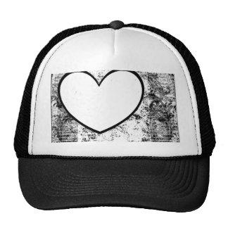 Casquette, chapeau, grunge de cadre d'insertion de casquette de camionneur