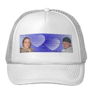 Casquette commémoratif de photo de Dina et de John