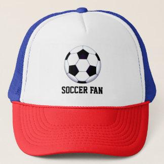 Casquette de camionneur de fan de foot