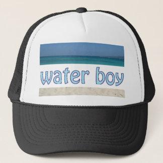 Casquette de camionneur de garçon d'eau