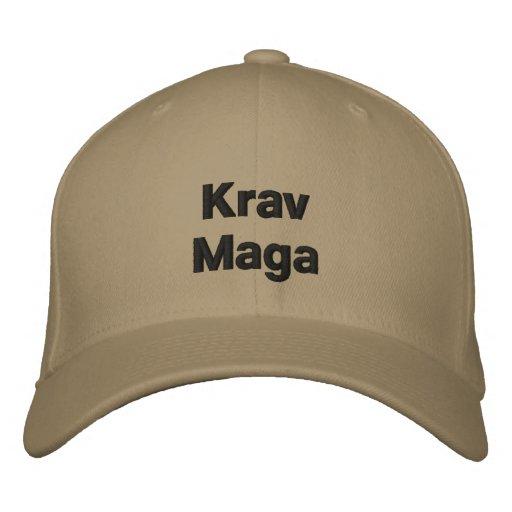 Casquette de Krav Maga Chapeau Brodé
