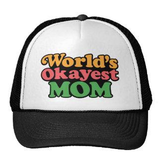 Casquette de maman d'Okayest du monde