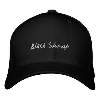 casquette de moutons noirs chapeau brodé