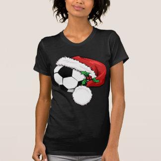 Casquette de Père Noël de ballon de football T-shirts
