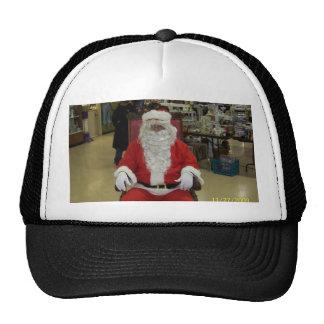 Casquette de photo de Père Noël