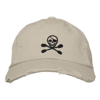 Casquette de pirate de palette de kayak casquette de baseball brodée