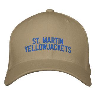 Casquette de St Martin Yellowjackets Chapeaux Brodés
