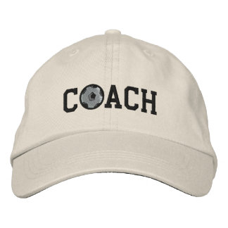 Casquette d'entraîneur du football casquettes brodées