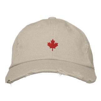 Casquette du Canada - casquette de feuille Casquette Brodée