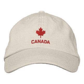 Casquette du Canada - chapeau de feuille d érable Chapeaux Brodés