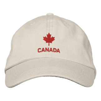 Casquette du Canada - chapeau de feuille d'érable  Chapeaux Brodés