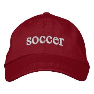 casquette du football chapeaux brodés