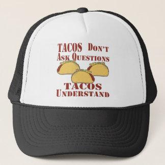 Casquette Les tacos ne posent pas des questions que les