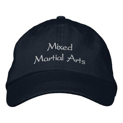 Casquette mélangé d'arts martiaux casquette brodée