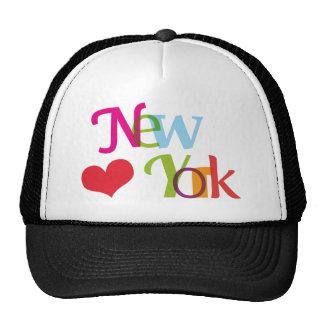 Casquette mignon de souvenir de New York