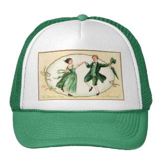 Casquette victorien vintage du jour de St Patrick