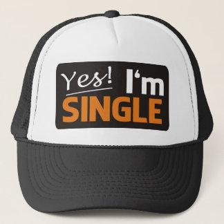 Casquette Yes i'm le single