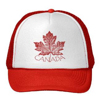 Casquettes de feuille d'érable du Canada de casque