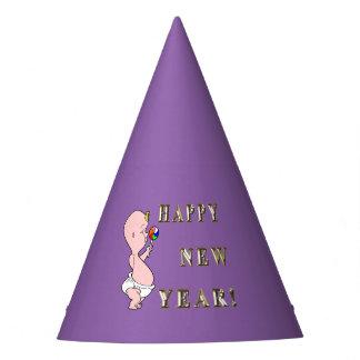 Casquettes de partie de nouvelle année de bébé chapeaux de fêtes