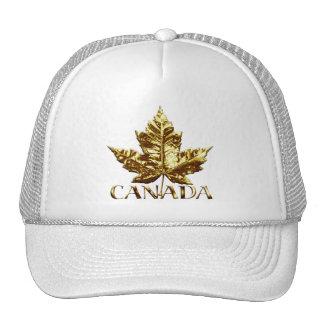 Casquettes du Canada de feuille d'érable de casque