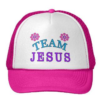 Casquettes plats chrétiens de Jésus Bill d'équipe