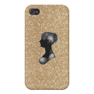 Cassandra Austen in Antique Paper iPhone 4/4S Case