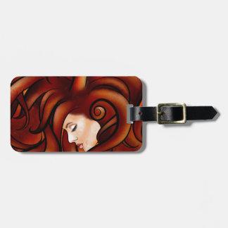Cassandrina V1 - jellyhair Luggage Tag