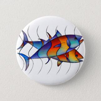 Cassanella - dream fish 2 inch round button