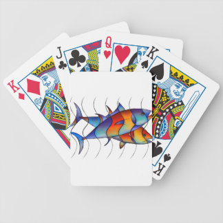 Cassanella - dream fish bicycle playing cards