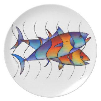 Cassanella - dream fish dinner plates