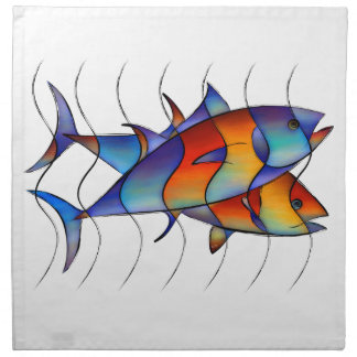 Cassanella - dream fish napkin