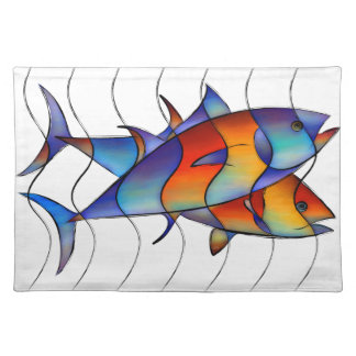 Cassanella - dream fish placemat