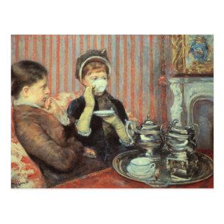 Cassatt: Five O'Clock Tea, Postcard